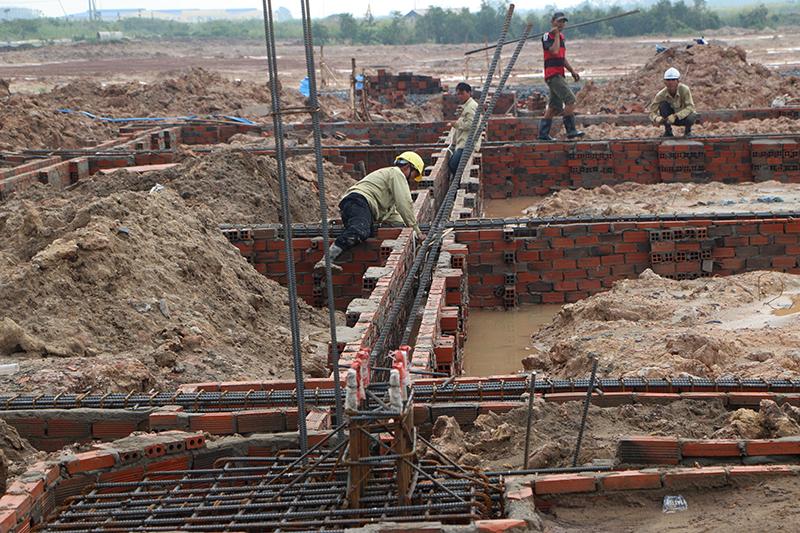Quá trình chuẩn bị cho công tác đổ bê tông